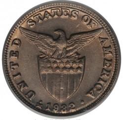 Mynt > 5centavos, 1930-1935 - Filippinene  - obverse