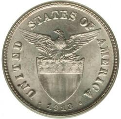 מטבע > 20סנטאבו, 1913 - פיליפינים  - obverse