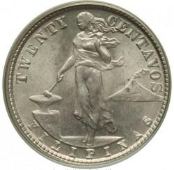 מטבע > 20סנטאבו, 1913 - פיליפינים  - reverse