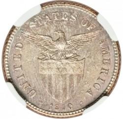 Кованица > 20центи, 1907-1929 - Филипини  - obverse