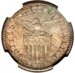 Νόμισμα > 20Σεντάβος, 1911 - Φιλιππίνες  - obverse