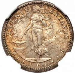 Νόμισμα > 20Σεντάβος, 1911 - Φιλιππίνες  - reverse