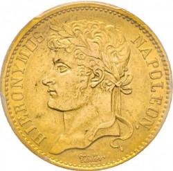 Monēta > 20franku, 1808-1809 - Westphalia  - obverse