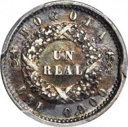 Münze > 1Real, 1852 - Kolumbien  - reverse