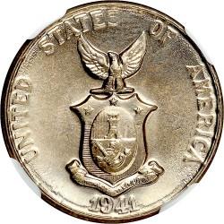 Mynt > 5centavos, 1937-1941 - Filippinerna  - obverse