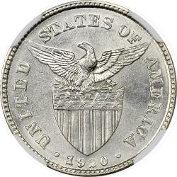 Νόμισμα > 20Σεντάβος, 1920 - Φιλιππίνες  - obverse