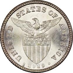 מטבע > 20סנטאבו, 1919 - פיליפינים  - obverse