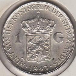Moneta > 1fiorino, 1943 - Indie Olandesi Orientali  - reverse