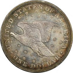 Münze > 1Dollar, 1836 - USA  - reverse