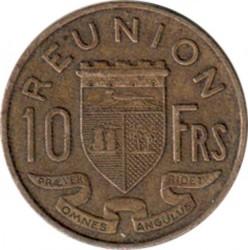 سکه > 10فرانک, 1955-1964 - ریونیون  - reverse
