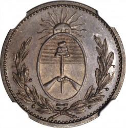 Moneda > 1/10real, 1822-1823 - Províncies Argentines  - obverse
