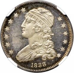 Νόμισμα > ¼Δολάριο, 1831-1838 - Η.Π.Α  (Liberty Cap Quarter) - obverse