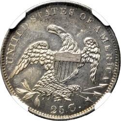 Νόμισμα > ¼Δολάριο, 1831-1838 - Η.Π.Α  (Liberty Cap Quarter) - reverse