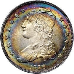 מטבע > ¼דולר, 1831-1838 - ארצות הברית  (Liberty Cap Quarter) - obverse