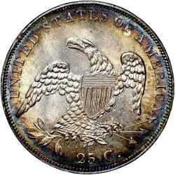 מטבע > ¼דולר, 1831-1838 - ארצות הברית  (Liberty Cap Quarter) - reverse