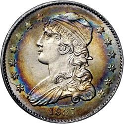Moneta > ¼dollara, 1831-1838 - USA  (Liberty Cap Quarter) - obverse