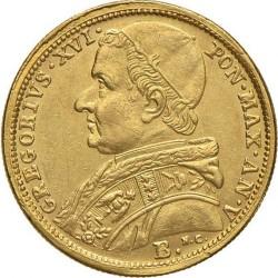 Монета > 5скудо, 1835-1846 - Папська область  - obverse