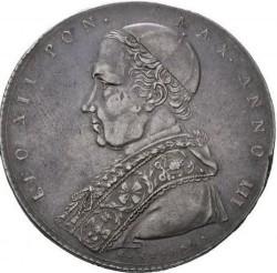Монета > 1скудо, 1825-1826 - Папська область  - obverse