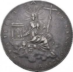 Монета > 1скудо, 1825-1826 - Папська область  - reverse