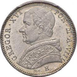 Монета > 20байокко, 1835-1846 - Папська область  - obverse