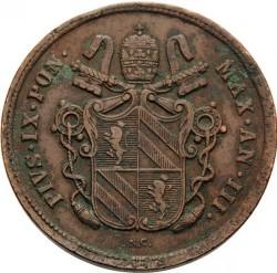 Moneta > 2baiocchi, 1848-1849 - Państwo Kościelne  - obverse