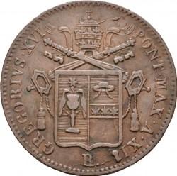 Монета > 1байокко, 1835-1845 - Папська область  - obverse
