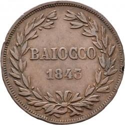Монета > 1байокко, 1835-1845 - Папська область  - reverse
