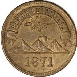 Монета > 1сентаво, 1871 - Гватемала  - obverse
