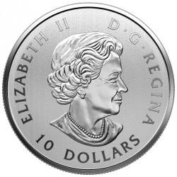 Moneda > 10dólares, 2018 - Canadá  (Hoja de Arce) - obverse