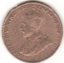 Mynt > 1cent, 1924 - Hong Kong  - obverse