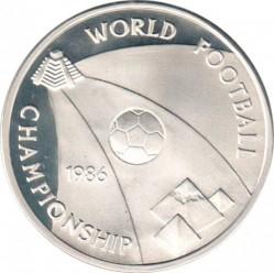 Moneta > 5sterline, 1986 - Egitto  (FIFA Mondiali di Calcio Messico '86) - reverse