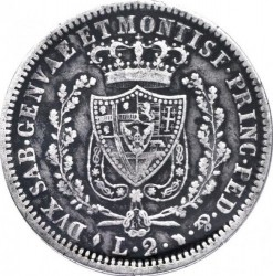 Moneta > 2lire, 1825-1831 - Sardegna  - reverse