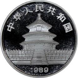 Moneta > 10yuan, 1989 - Cina  (Panda) - obverse