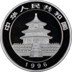 Moneta > 5yuan, 1996 - Cina  (Panda) - obverse