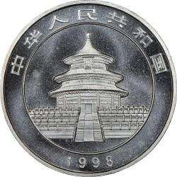 Moneta > 10yuan, 1998 - Cina  (Panda) - obverse