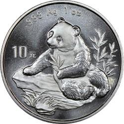 Moneta > 10yuan, 1998 - Cina  (Panda) - reverse