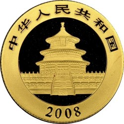 Moneta > 100yuan, 2008 - Cina  (Panda) - obverse