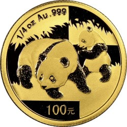 Moneta > 100yuan, 2008 - Cina  (Panda) - reverse