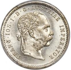 Coin > ¼florin, 1872-1875 - Austria  - obverse