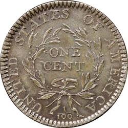 Монета > 1цент, 1793-1795 - США  (Liberty Cap Cent) - reverse