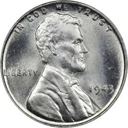 Moneta > 1centas, 1943 - JAV  - obverse