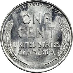 Moneta > 1centas, 1943 - JAV  - reverse
