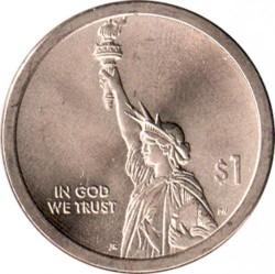 Монета > 1долар, 2018 - США  (Американські Інновації) - obverse