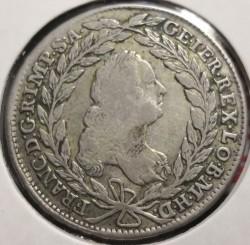 Монета > 20крейцерів, 1754-1765 - Австрія  (Франц І) - obverse