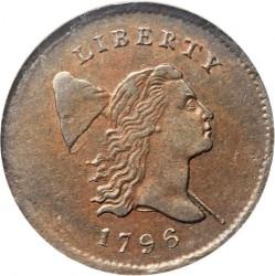 Münze > ½Cent, 1794-1797 - USA  (Liberty Cap Half Cent) - obverse