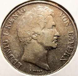 Moneda > 1florín, 1845 - Baviera  - obverse