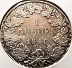Moneda > 1florín, 1845 - Baviera  - reverse