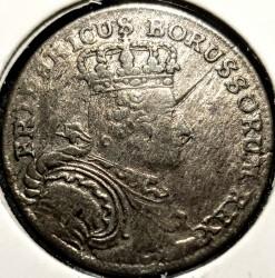 Moneta > 6groszy, 1755-1756 - Prusy  - obverse