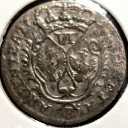 Moneta > 6groszy, 1755-1756 - Prusy  - reverse