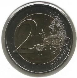 Moneda > 2euros, 2018 - Grecia  (75 Aniversario - Muerte de Kostis Palamas) - reverse